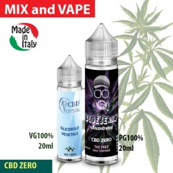 Blueberry CBD ZERO - Shot series 20ml