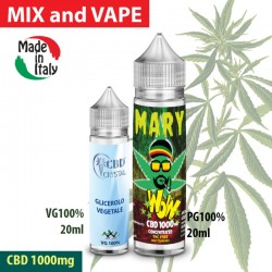 Mary WoW CBD 1000 Mix and Vape