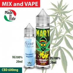 Mary WoW CBD 600 Mix and Vape
