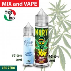 Mary WoW CBD ZERO Mix and Vape
