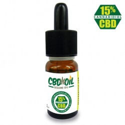 CBD OIL 15% - 10 ML