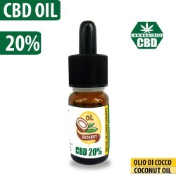 CBD OIL 20% COCONUT